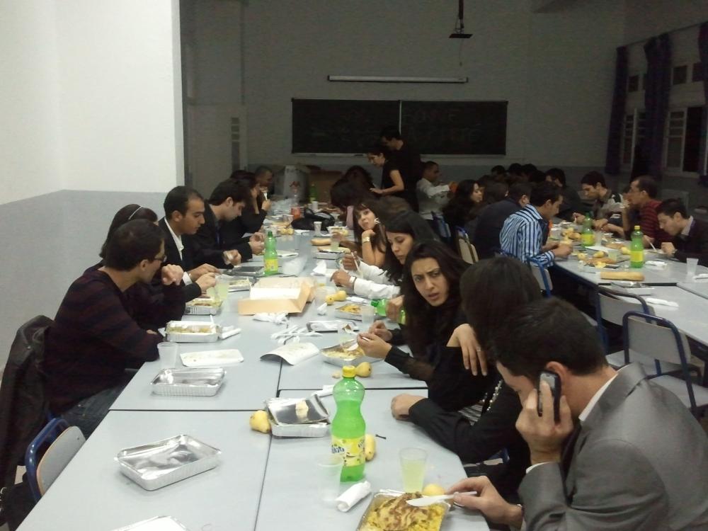 dinner post-forum 2011