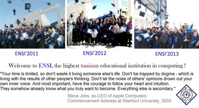 ENSI Graduation days, 3 generations already